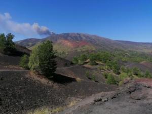 Mount Sartorius Etna volcano