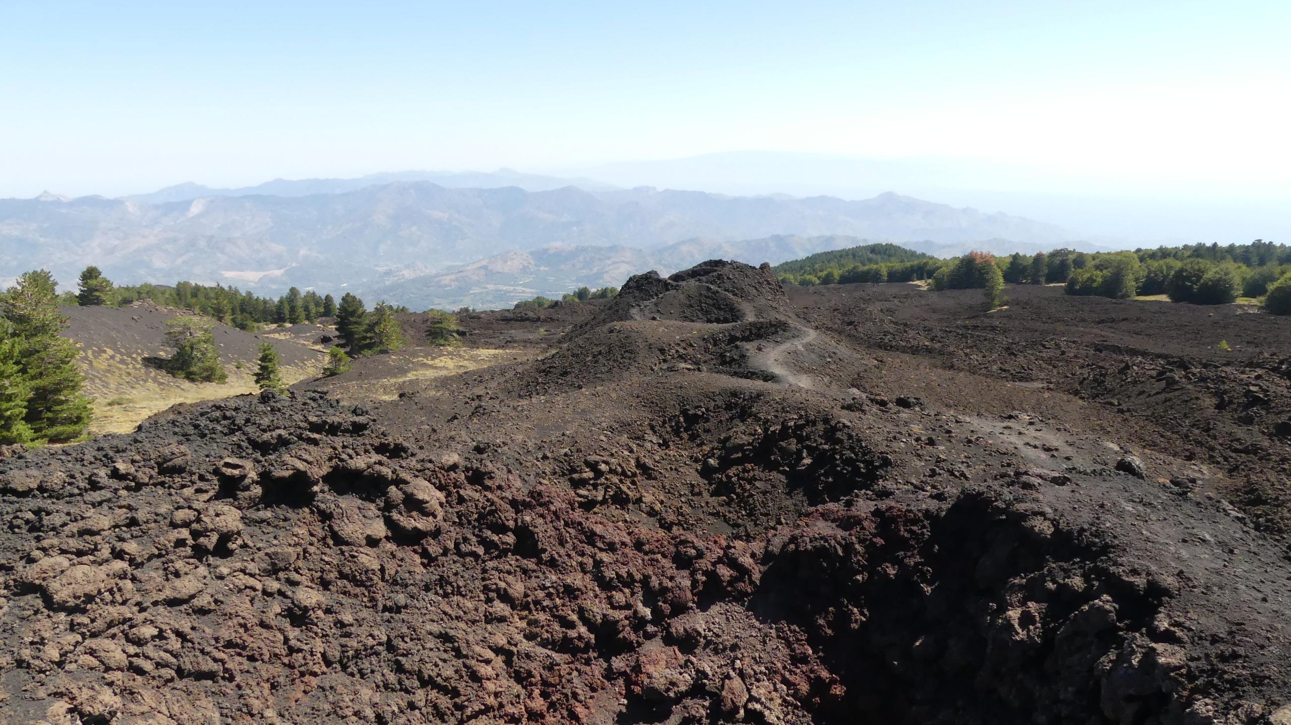 Bottoniera craters of Etna
